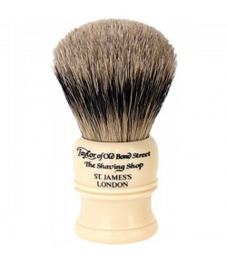 Taylor of Old Bond Street Super Badger Shaving Brush Ivory