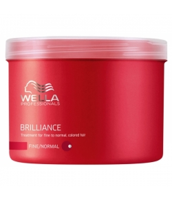 Wella Care³ Brilliance Mask 500 ml (Feines/Normales/Coloriertes Haar)