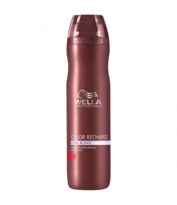 Wella Care� Color Recharge Silver Blond Shampoo K�hle Blondt�ne 250 ml