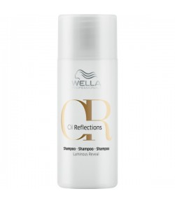 Wella Care³ Oil Reflections Shampoo für strahlenden Glanz 50 ml