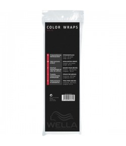 Wella Color Wraps Str�hnenfolie, weiss 100 Stk