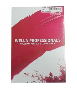 Wella Koleston Perfect & Color Touch Farbkarte Color Board