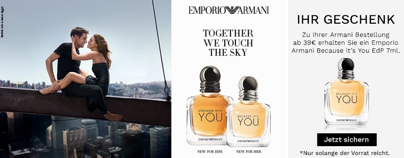 Emporio Armani You for him or her