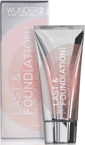 Wunder2 Last & Found[ation] 24+ Hour Flawless Coverage Foundation 10 Porcelain 30 ml