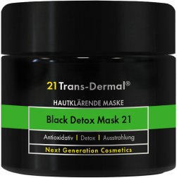 21 Trans-Dermal Black Detox Mask 21 50ml