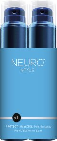 Aktion - Paul Mitchell Neuro Style Save on Duo Protect HeatCTRL Hitzeschutz-Haarspray 2 x 205 ml