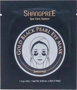 Shangpree 1 Pair Gold Black Pearl Eye Mask 1,4 g * 2 Stk.