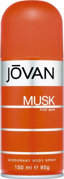 Jovan Musk For Men Deodorant Body Spray 150 ml