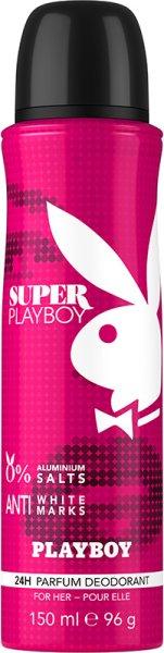 Playboy Super Women Deo Body Spray 150 ml