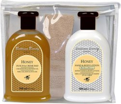 Bettina Barty Honey Set Bodylotion + Duschgel 500 ml + Gästetuch